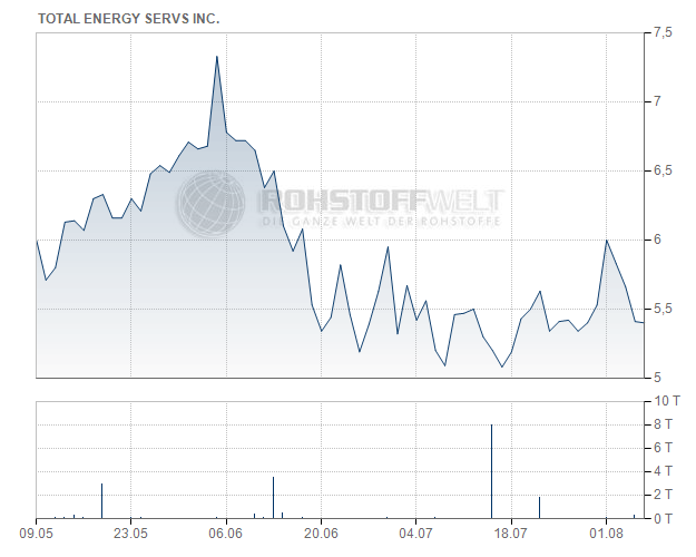 Total Energy Services Inc.